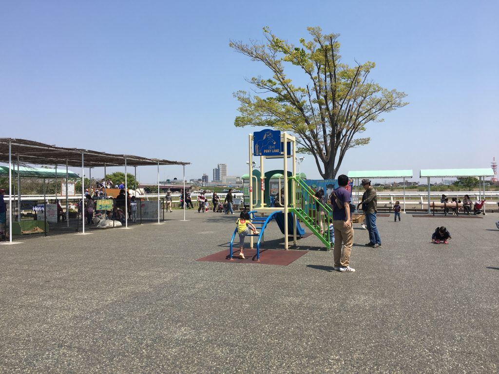 【ポニーランド】は無料の遊具も完備!お馬さんが苦手な2歳の子供でも大満足!