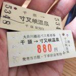 大井川鐵道・トーマス号乗車の料金は、合計でいくら掛かるの?1歳子連れ・1泊2日で計算してみた