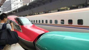 子鉄トレインビュースポット・東京駅で、電車好きな子供と新幹線をたっぷり見よう!はやぶさ・こまち連結や、かがやきなども見れるよ。