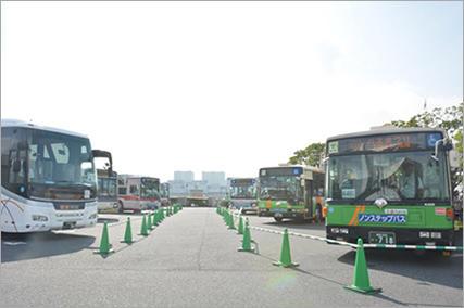バスまつり2017 in 晴海(東京)に、バス好き2歳の息子と行くので、子連れで楽しめそうな3つのポイントと、会場までの行き方をまとめてみた(2017年9月16日(土)開催)