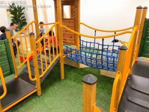 お台場・2歳子連れ遊びなら、【アネビートリムパーク】へ。トランポリンや滑り台・アスレチックで遊びながら学び、運動能力も向上させよう!