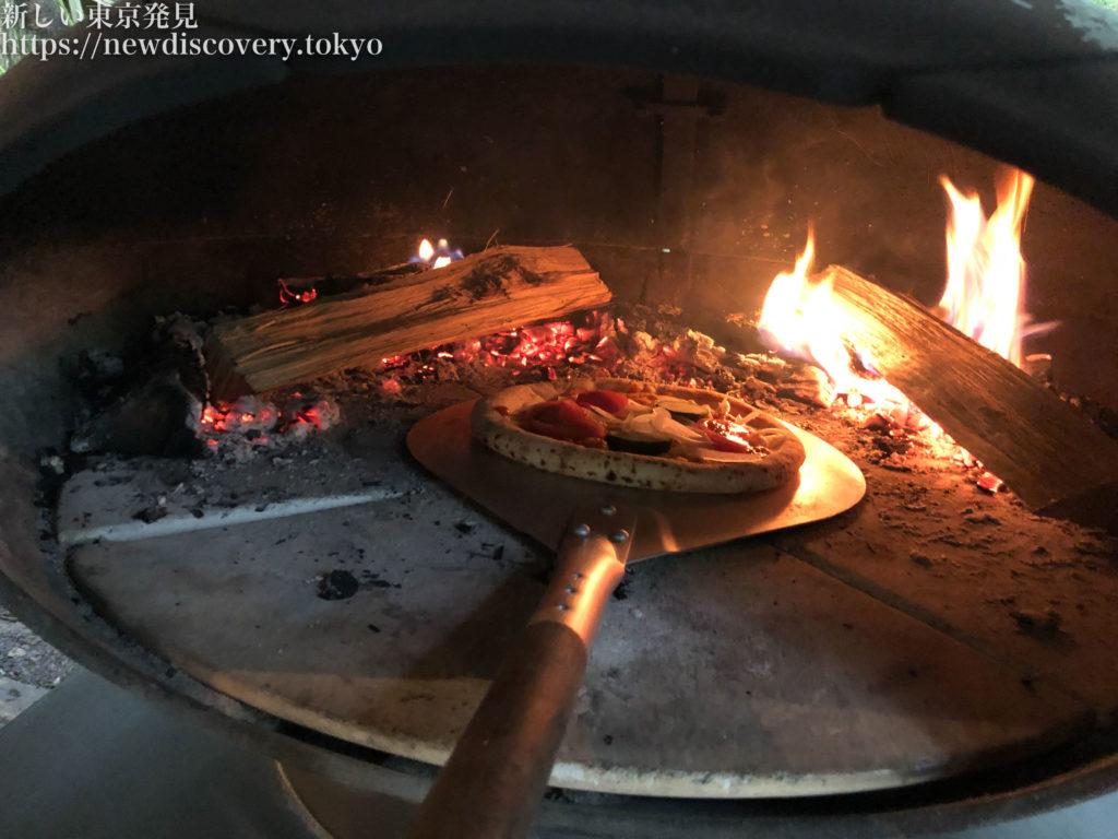 PICA秩父 グランオーベルジュコテージ ピザ窯