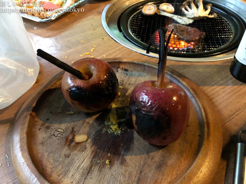 PICA秩父 グランオーベルジュコテージ 焼きりんご 4歳子連れ