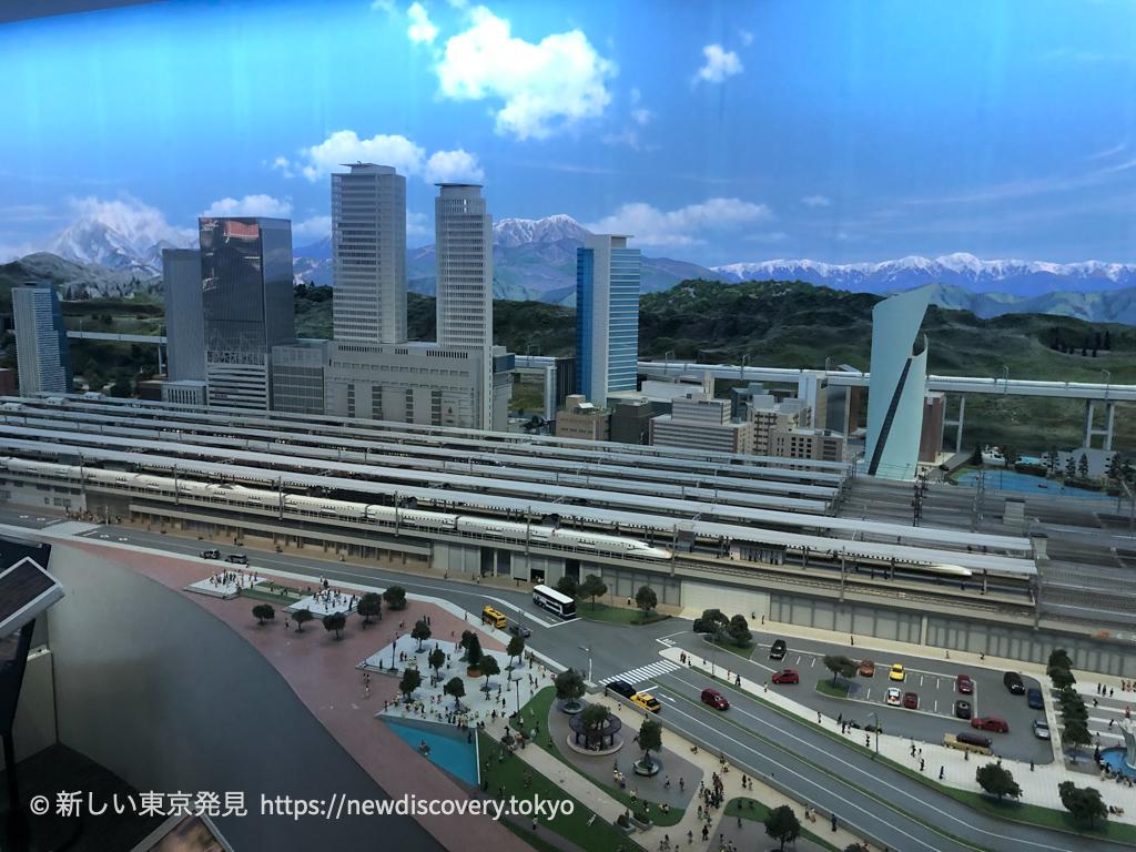 リニア鉄道館 巨大鉄道ジオラマ 東京名古屋大阪再現 5歳子連れ誕生日旅行