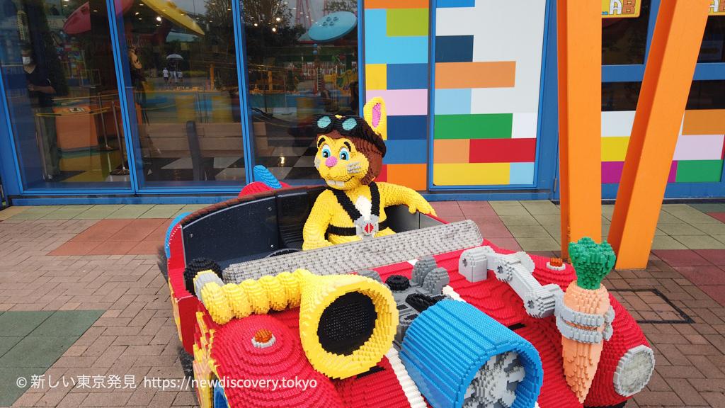 レゴランド名古屋 5歳子連れ旅行 レゴジオラマ