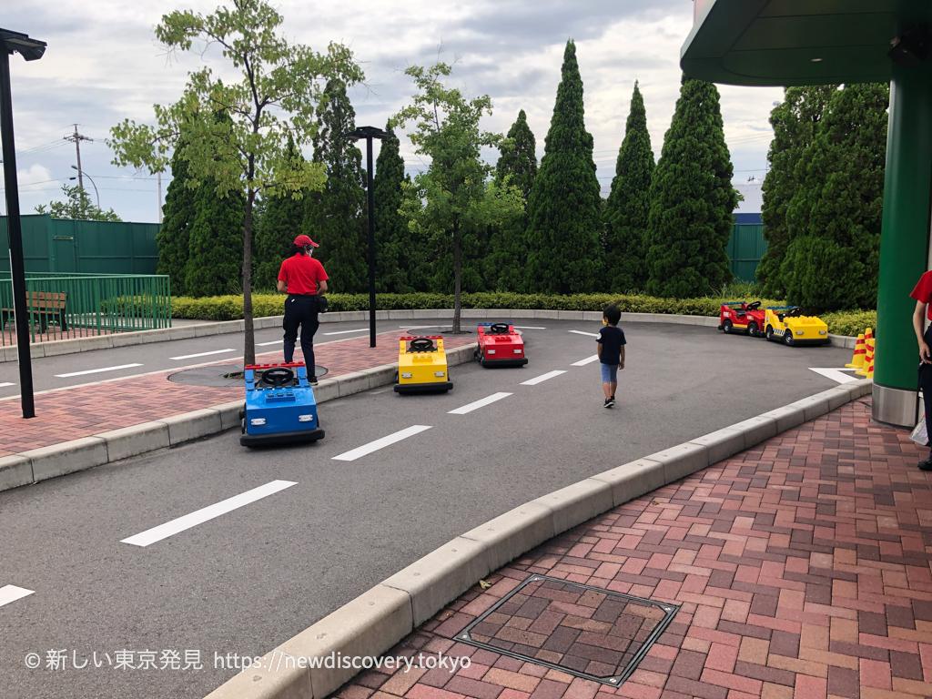 レゴランド名古屋 ジュニアドライビングスクール 5歳