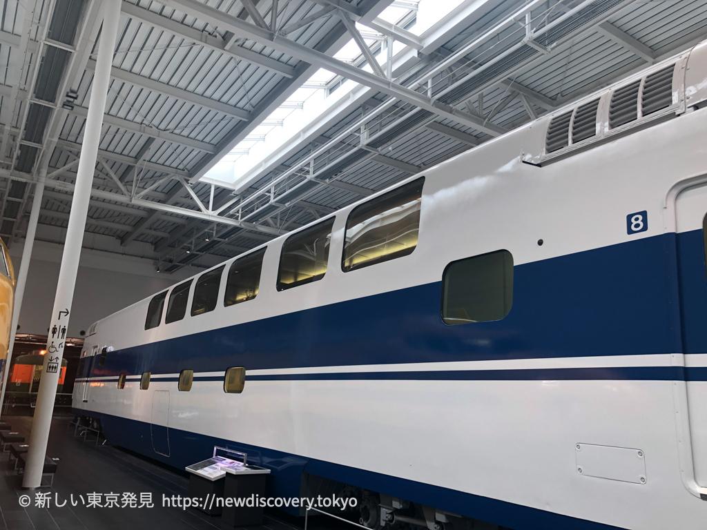 リニア鉄道館_子鉄_5歳子連れ_名古屋子連れ旅行 グランドひかり 2階建て新幹線