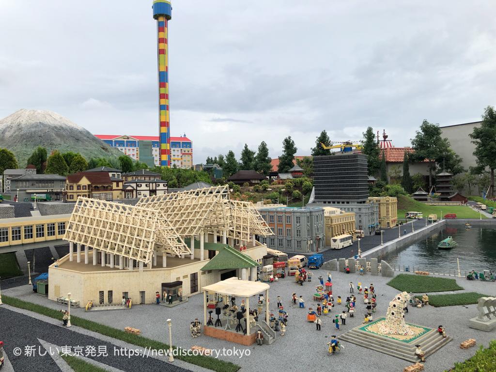 レゴランド・ジャパン・リゾート 名古屋 5歳子連れ レゴジオラマ