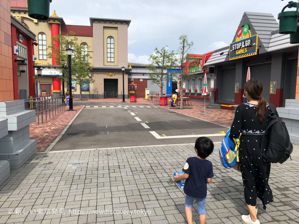 レゴランド名古屋 5歳子連れ旅行 ポリスビルディングエクスペリエンス