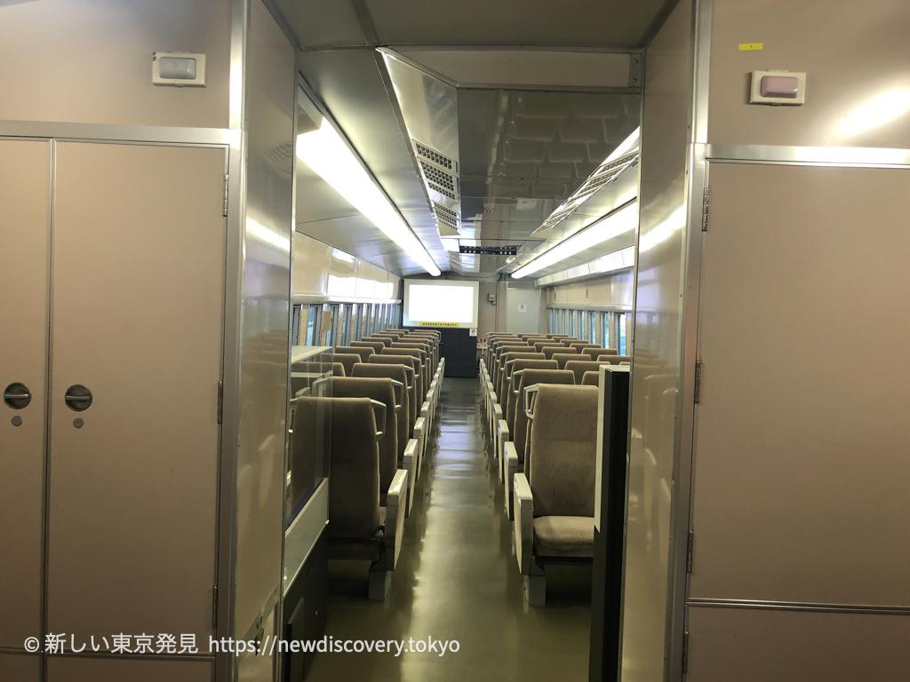 リニア鉄道館_子鉄_5歳子連れ_名古屋子連れ旅行 ドクターイエローの中